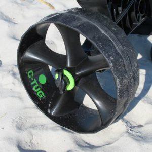 C-tug puncture free wheel upgrade kayaking accessory